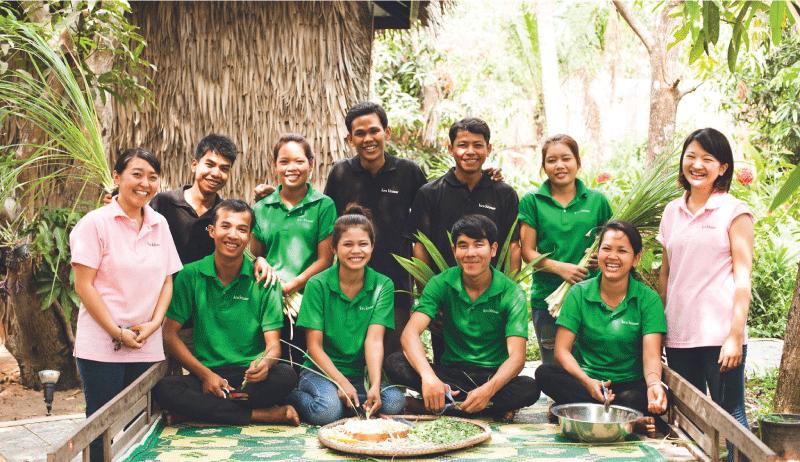 カンボジア産の良質なスパ製品を広める社長直下型インターン!