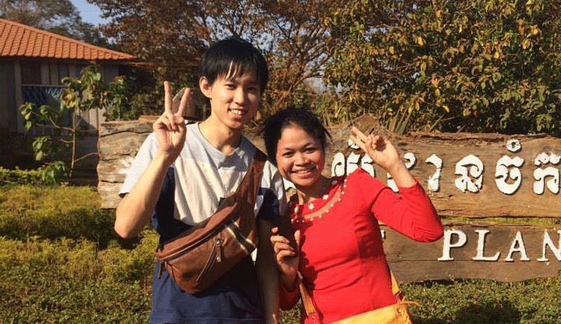 就活を止めてカンボジアでのインターンへ