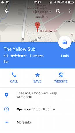 お店の詳細情報