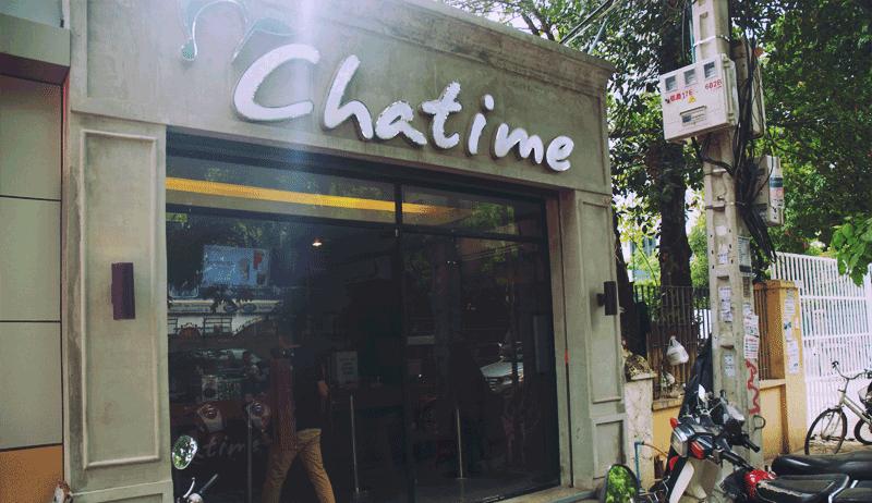 お隣のChatime - クリスピー・クリーム・ドーナツ1号店がプノンペンにオープン