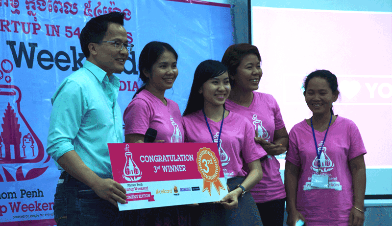 Startup Weekend Phnom Penh Women's Edition第三位 - これから海外インターンをする人は参加しよう!Startup Weekendのススメ