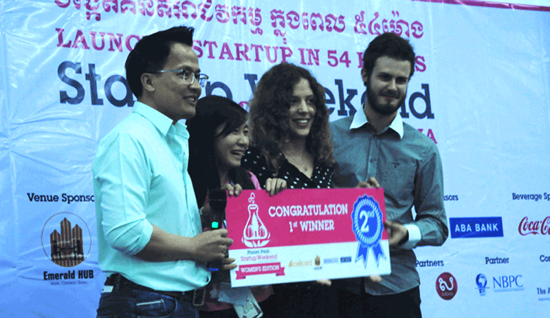 Startup Weekend Phnom Penh Women's Edition準優勝チーム - これから海外インターンをする人は参加しよう!Startup Weekendのススメ