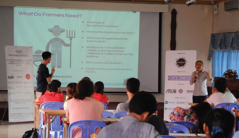 ガイダンス - カンボジア初開催のMakerthon「SEA Makerthon- Phnom Penh」に潜入してきました