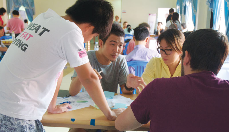 アイデア出し3 - カンボジア初開催のMakerthon「SEA Makerthon- Phnom Penh」に潜入してきました