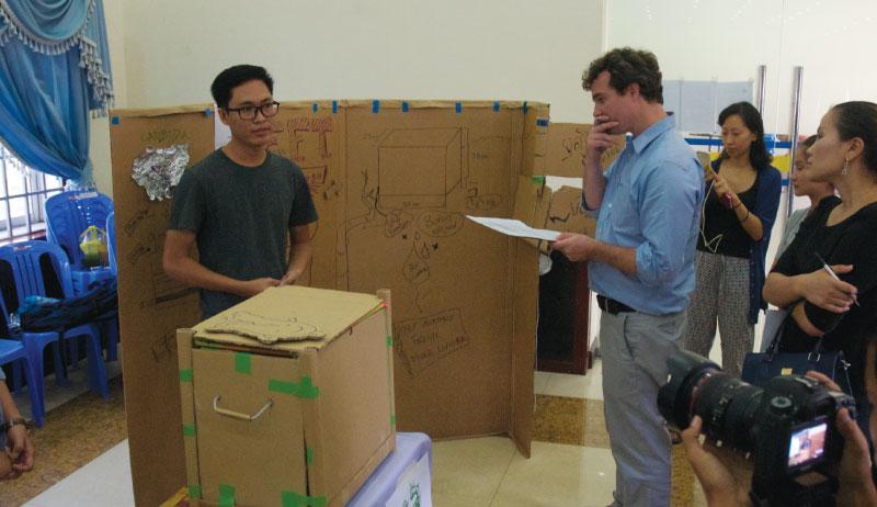 準優勝は「Eco Fresh Team」 - カンボジア初開催のMakerthon「SEA Makerthon- Phnom Penh」に潜入してきました