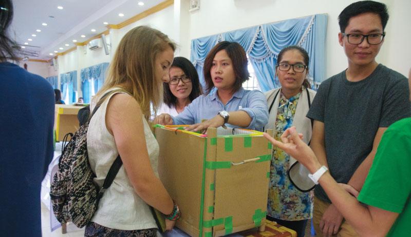 エコフレンドリー・クーラーボックス - カンボジア初開催のMakerthon「SEA Makerthon- Phnom Penh」に潜入してきました