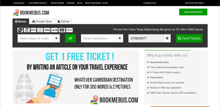 About BookMeBus