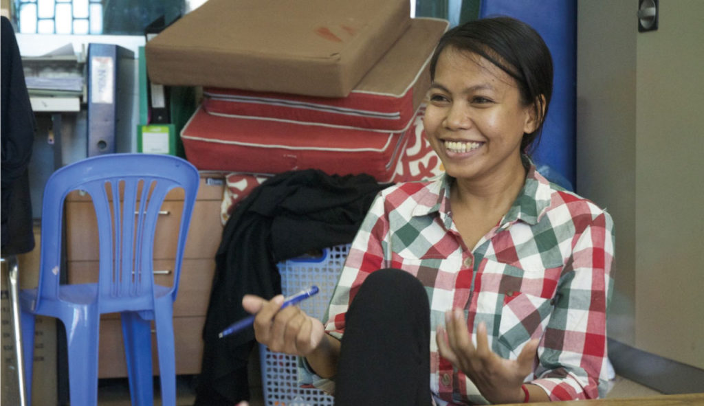 Interview with Samnang, a Cambodian General Manager of Fair Trade Organization