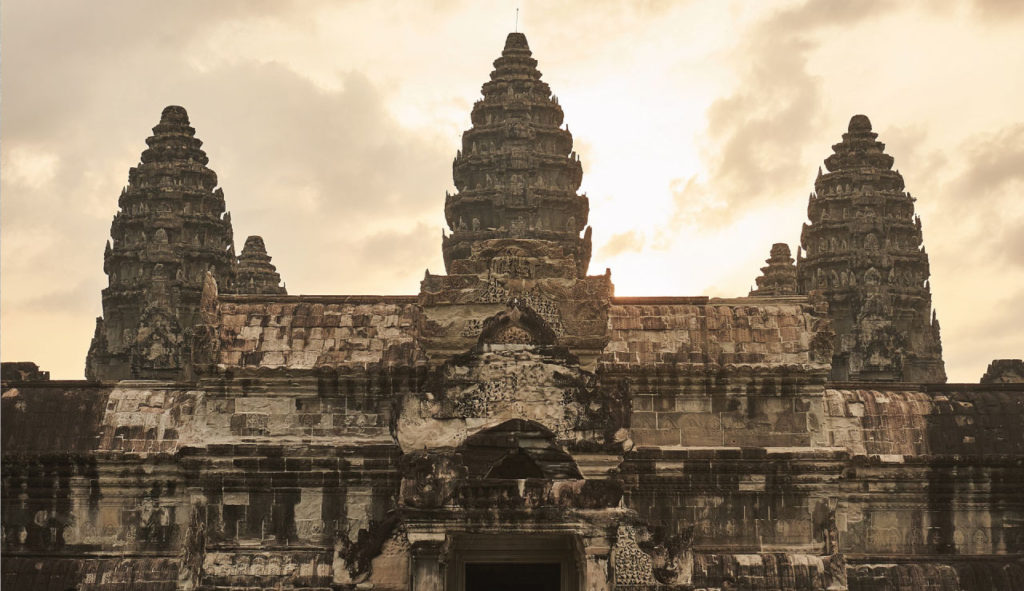 Angkor Wat was chosen as the best landmark in the world.