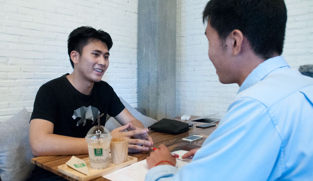 Solving logistics problems in Cambodia with skills gained in the US: Interview with Jay, co-founder of Joonaak