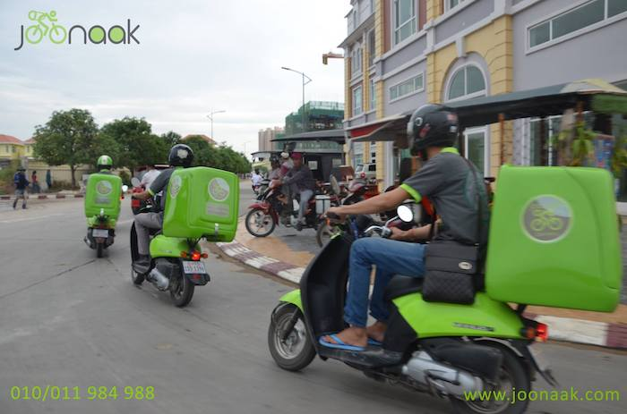 Joonaak, the first Cambodian local delivery startup