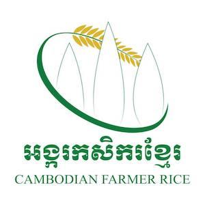 Cambodian Farmer Rice Logo
