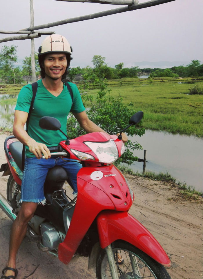 Rithy with moto