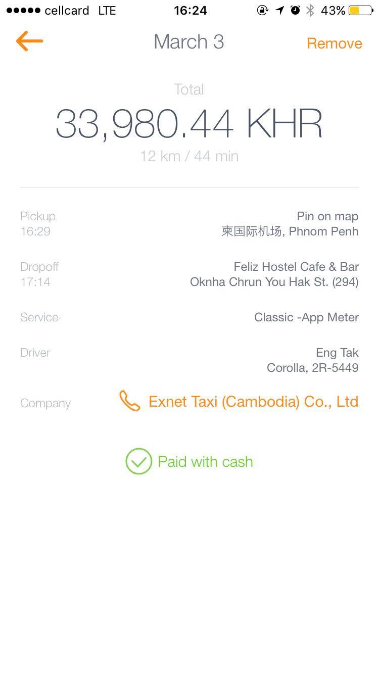 Uber Fare Review >> The cheapest way to get from Phnom Penh airport to ...